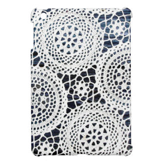 Awesome Vintage Crocheted Doily Design Cover For The iPad Mini