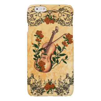 Awesome violin with violin bow iPhone 6 plus case