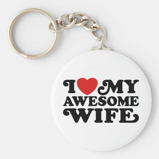 Awesome Wife Key Chain