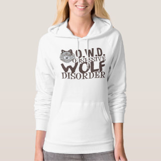 Awesome Wolf Hooded Sweatshirts