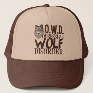 Awesome Wolf Trucker Hat