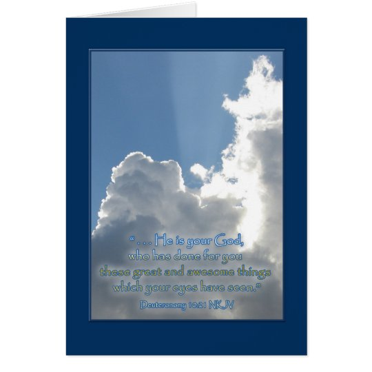 Awesome Wonders Encouragement Card