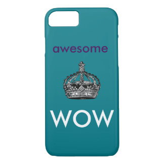 Awesome, Wow Phone Case