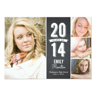Awesome Year Graduation Announcement Personalized Invite