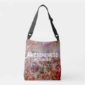 Awesomeness Activated - Flowers - Tote - Bag