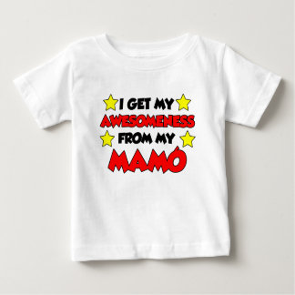Awesomeness From My Mamo Baby T-Shirt