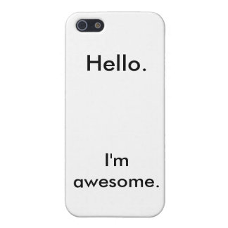 Awesomeness iPhone 5/5S Covers