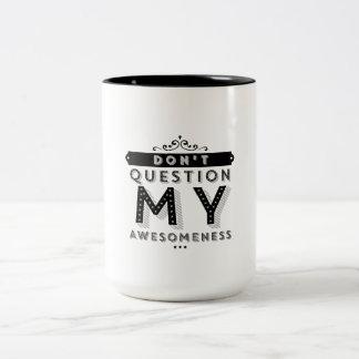 Awesomeness Two-Tone Coffee Mug