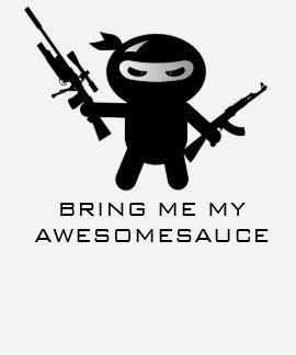 Awesomesauce OP Ninja Tshirts