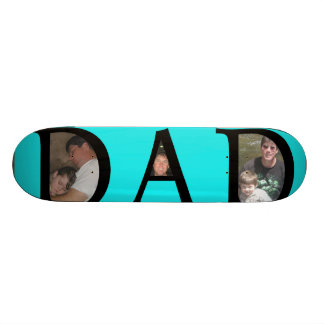 Awesomest Dad Fathers Day Add Your Pictures Logo 19.7 Cm Skateboard Deck