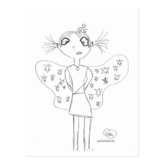 Awesomest Fairy #1 Postcard