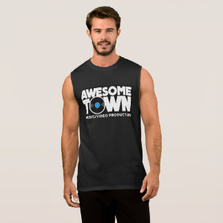 Awesometown Dark Sleeveless Shirt