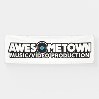 Awesometown Outdoor Banner w/ grommets