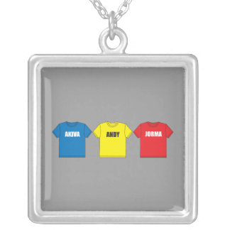 Awesometown Silver Plated Necklace