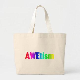 AWEtism Large Tote Bag