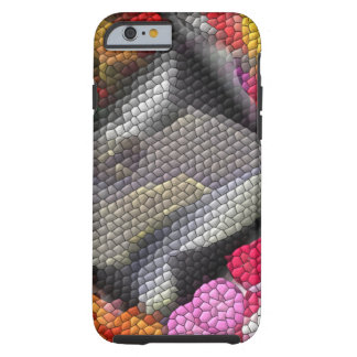 Awful colorful tiles tough iPhone 6 case