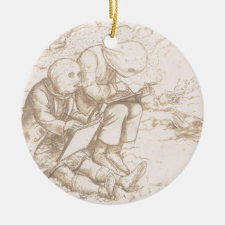 Awful Protection Against Midges, 1853 (pen & brown Christmas Ornament