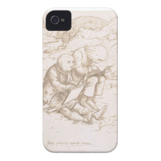Awful Protection Against Midges, 1853 (pen & brown iPhone 4 Case-Mate Case