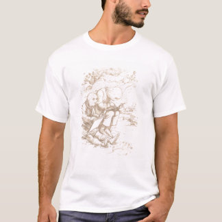 Awful Protection Against Midges, 1853 (pen & brown T-Shirt