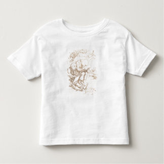 Awful Protection Against Midges, 1853 (pen & brown Toddler T-Shirt