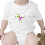 Awkward Ballet Frog Baby Bodysuit