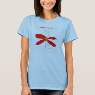 Awkward Butterfly Women's Shirt - blue