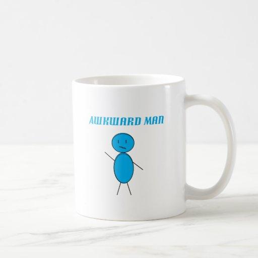 Awkward Man Coffee Mugs