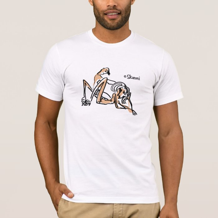 Awkward Moment with Male Model T-Shirt
