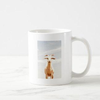 Awkward one basic white mug