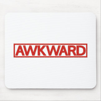 Awkward Stamp Mouse Pad