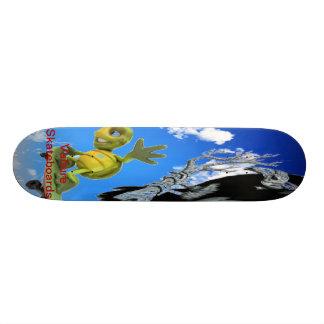 awkward turtle 21.6 cm skateboard deck