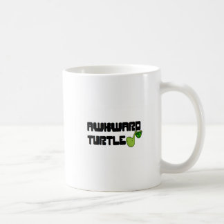 Awkward turtle coffee mug