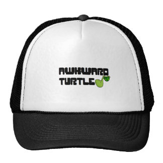 Awkward turtle mesh hat