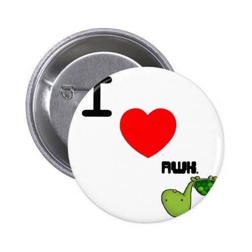 awkward turtle love pinback buttons