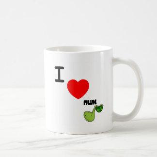 awkward turtle love basic white mug