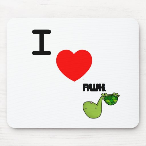 awkward turtle love mouse pads