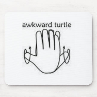 awkward turtle mouse mat