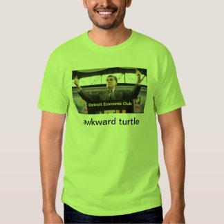 awkward turtle romney election t-shirts