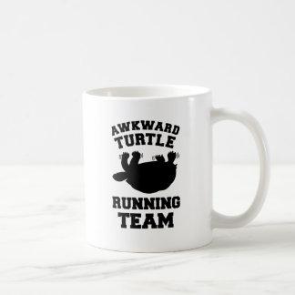 Awkward Turtle Running Team Coffee Mug