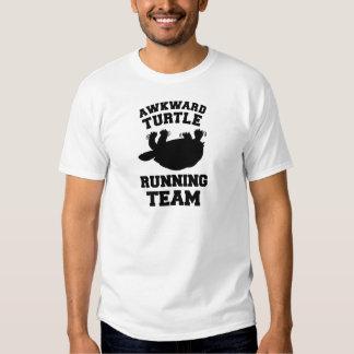 Awkward Turtle Running Team T-shirt