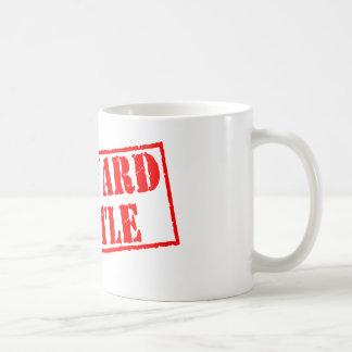 Awkward Turtle Stamp Coffee Mug