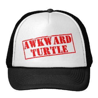 Awkward Turtle Stamp Trucker Hat