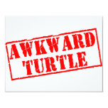Awkward Turtle Stamp Invite