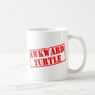 Awkward Turtle Stamp Coffee Mugs