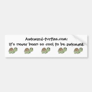 Awkward Turtles Bumper Sticker