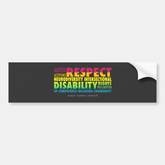 AWN Rainbow Pride Bumper Sticker