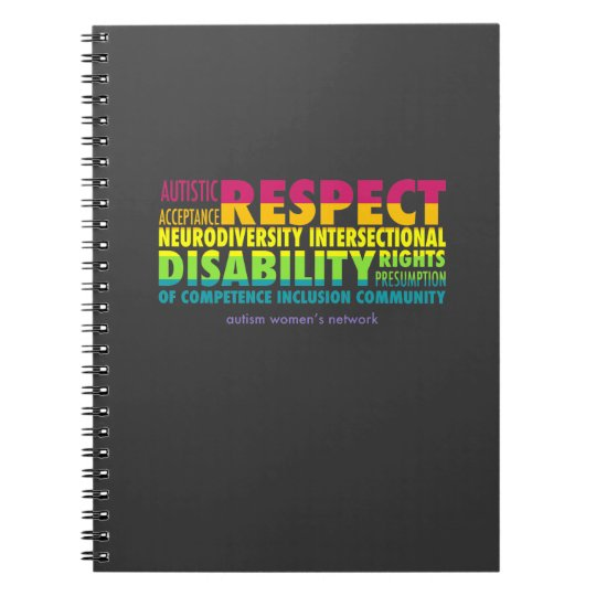 AWN Rainbow Word Cloud Notebook