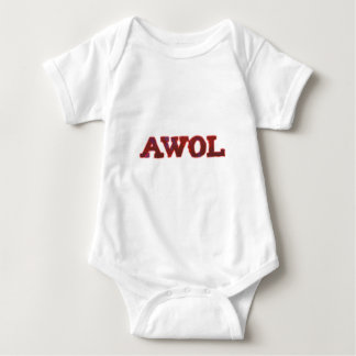 AWOL absent without leave Baby Bodysuit