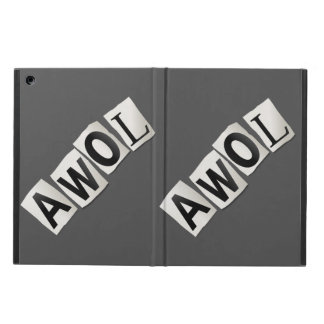 AWOL. CASE FOR iPad AIR