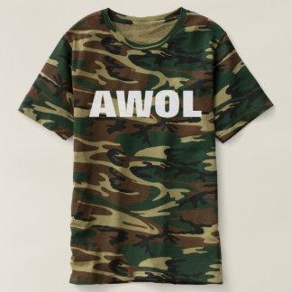 AWOL (WHITE TEXT) SHIRT